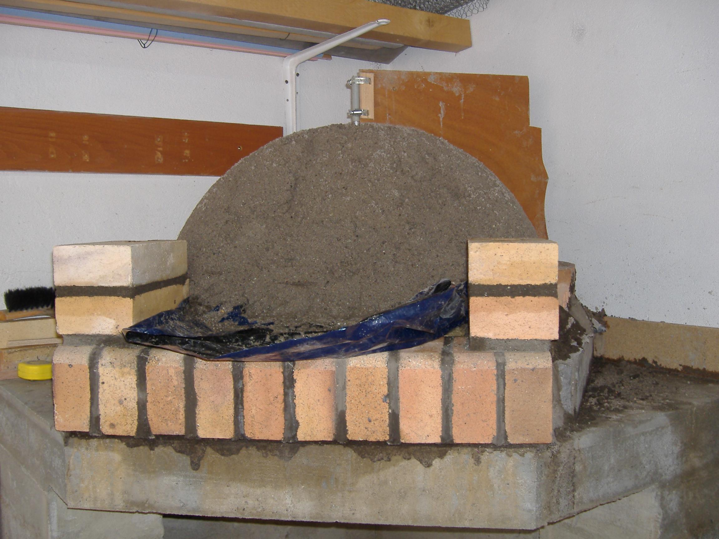 Construction d un four pain traditionnel construction - Decongeler au four traditionnel ...